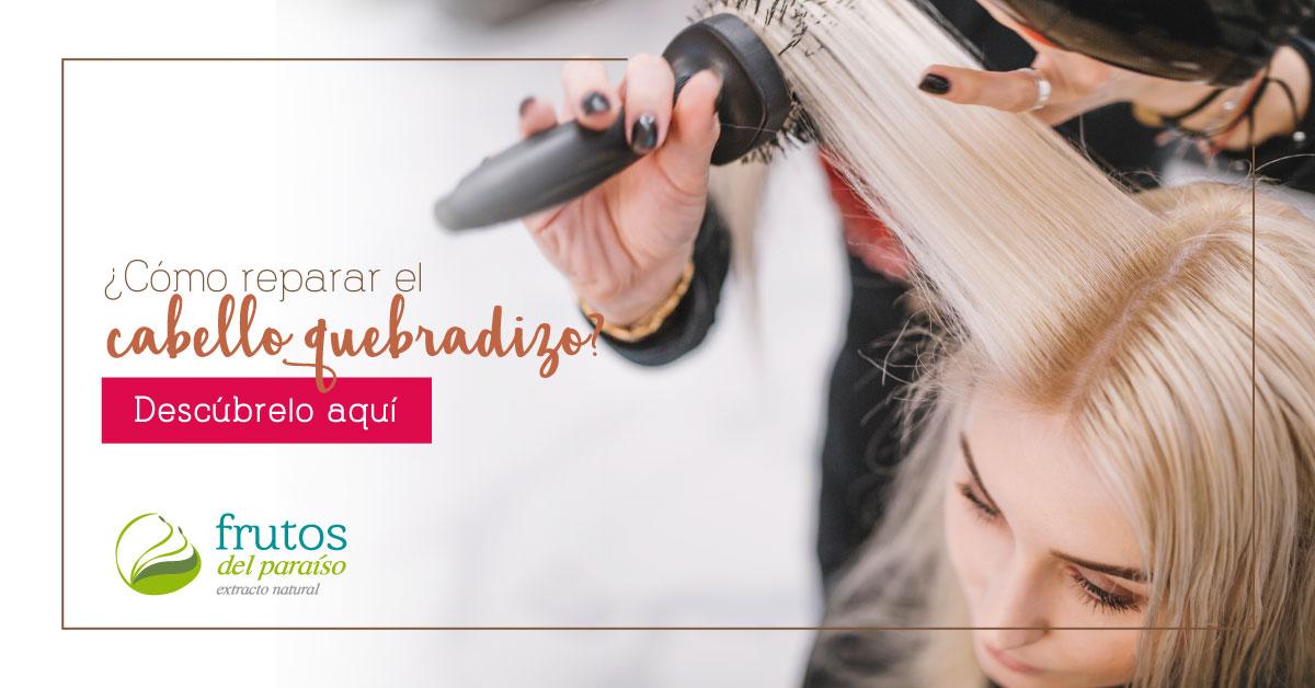Cómo reparar el cabello quebradizo