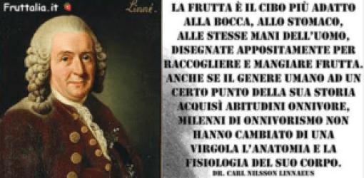 Fruttarismo e Linneus