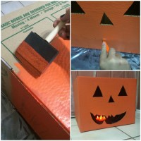 Create Halloween Dcor Using Moving Boxes | Fry-Wagner ...