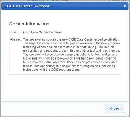 CCIE DC Info
