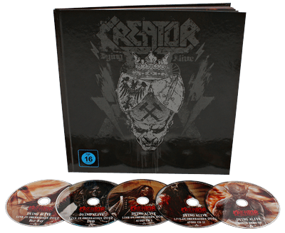 KREATOR Dying alive Earbook