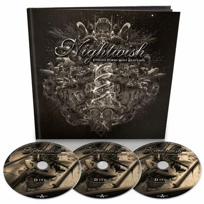 NIGHTWISH Endless forms most beautiful Earbook