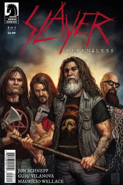 SLAYER Repentless issue 2