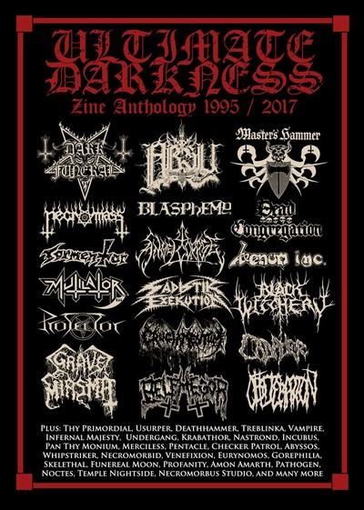 Ultimate Darkness zine anthology 1995 2017