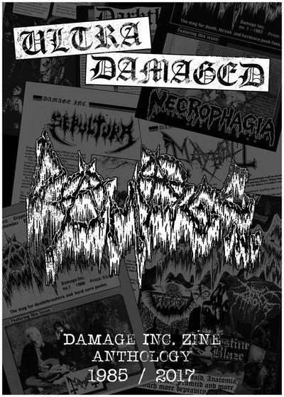 Ultra Damaged zine anthology 1985 2017