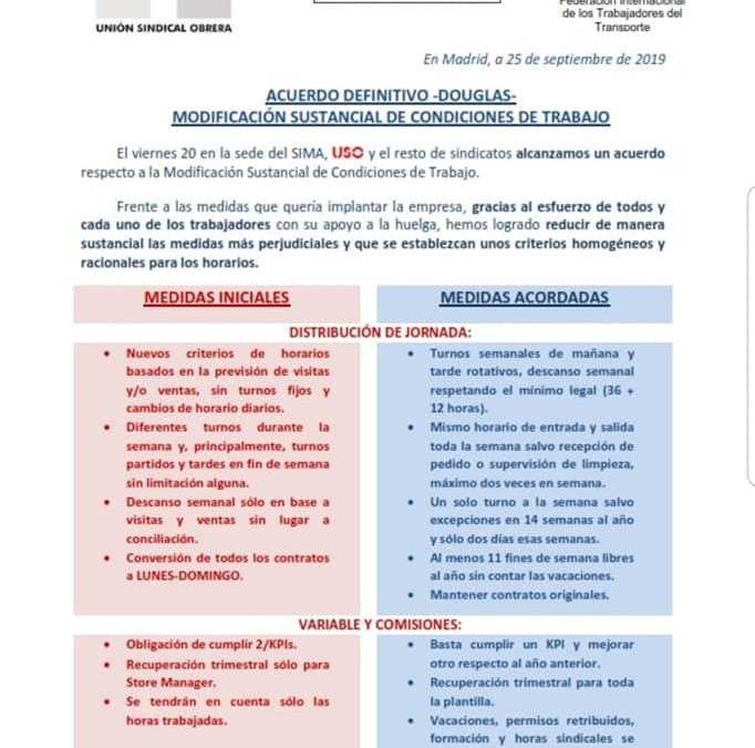 ACUERDO DEFINITIVO DOUGLAS