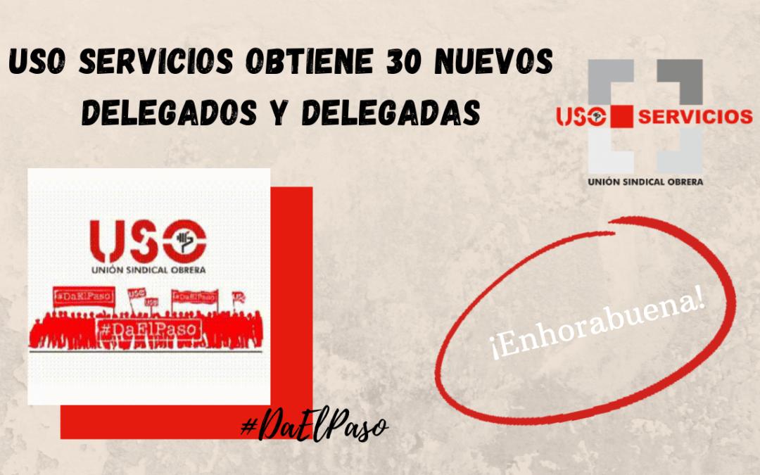 USO Servicios obtiene 30 nuevos delegados y delegadas en Murcia y en Cataluña