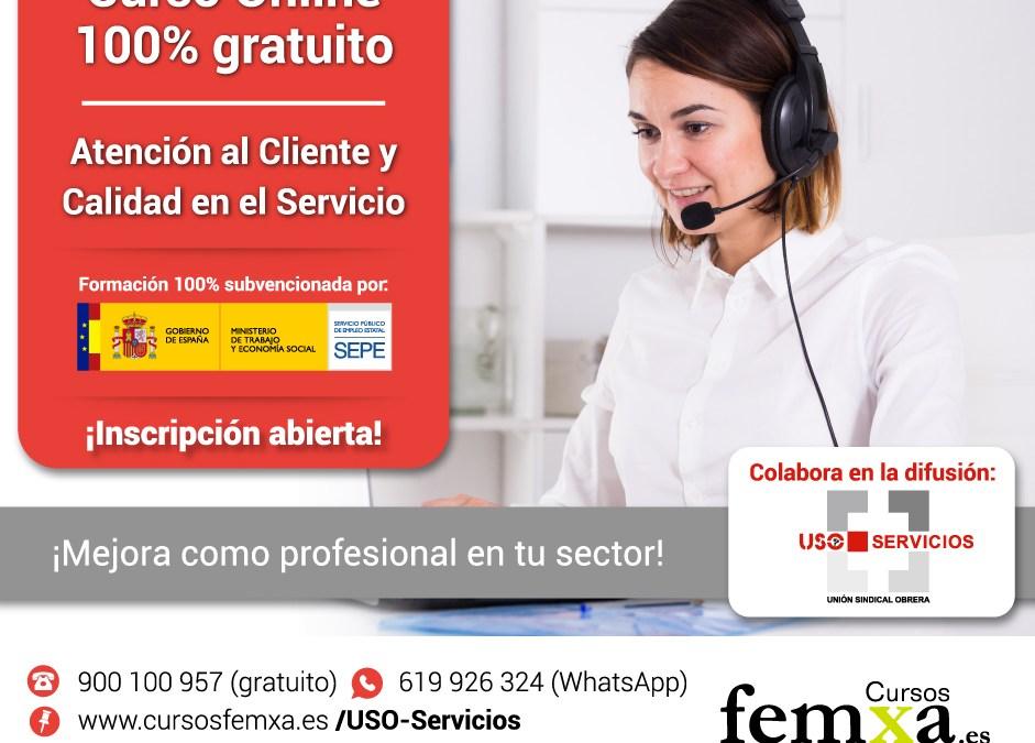 Curso online 100% gratuito de atención al cliente y calidad de servicio