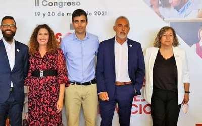 El Secretario General de la Federación de Servicios, Pedro Ríos, reelegido.