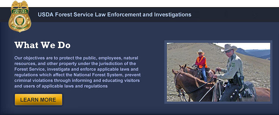 Law enforcement personnel operate as full partners within the forest service organization in carrying out the agency's mission, especially in upholding. Law Enforcement And Investigations Usda Forest Service