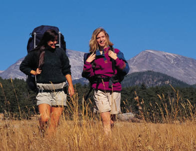 Hiking and backpacking can be more fun together