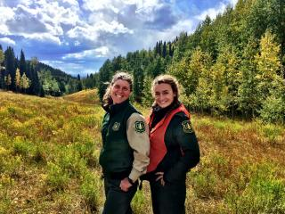 One hand can lift a soul; Temporary Jobs Us Forest Service
