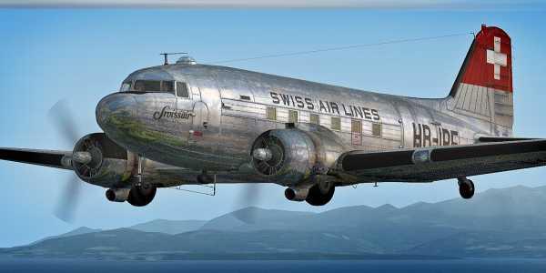 C-47 ( V2 ) HB-IRF - 001