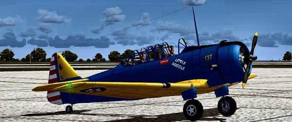 North American BT-15 3