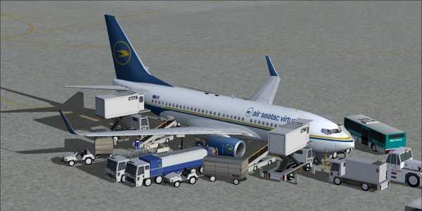 AST TDS Boeing  737-700 4