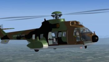 Welcome to Perfect Flight » FSX – Puma AS332 Spanish Police