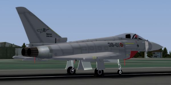 Welcome to Perfect Flight » FSX – AI Eurofighter Typhoon