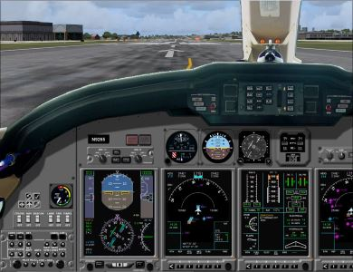 Welcome To Perfect Flight Fs2004 Cessna Citation X Panel