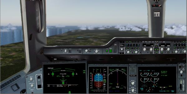 Welcome to Perfect Flight » FSX/FS2004 – Airbus A350 Panel V2