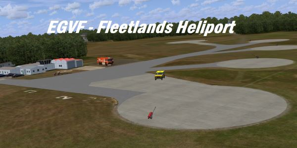 Helipads for fsx