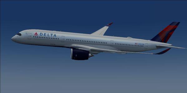 Delta A350 Fsx