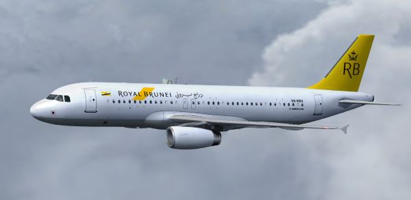Welcome to Perfect Flight » FSX/FS2004 – Airbus A320-200 Royal Brunei