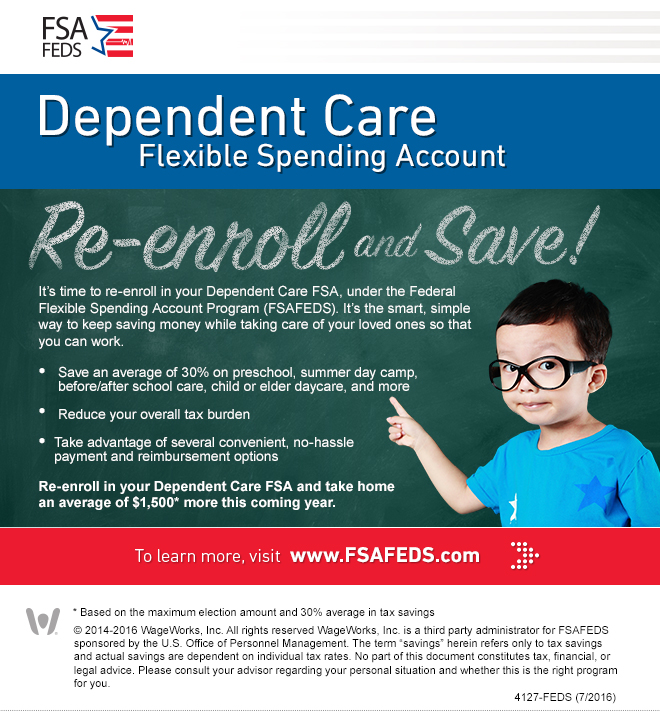 dependent care spending account