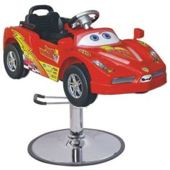 Kids Salon Chair Amazon Baby Lcl Beauty Children S Red Sports Car Hydraulic Cutting Seating Chairs