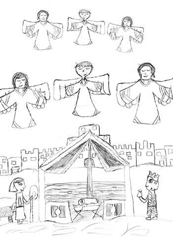 DENA » Christmas Card Contest 2013