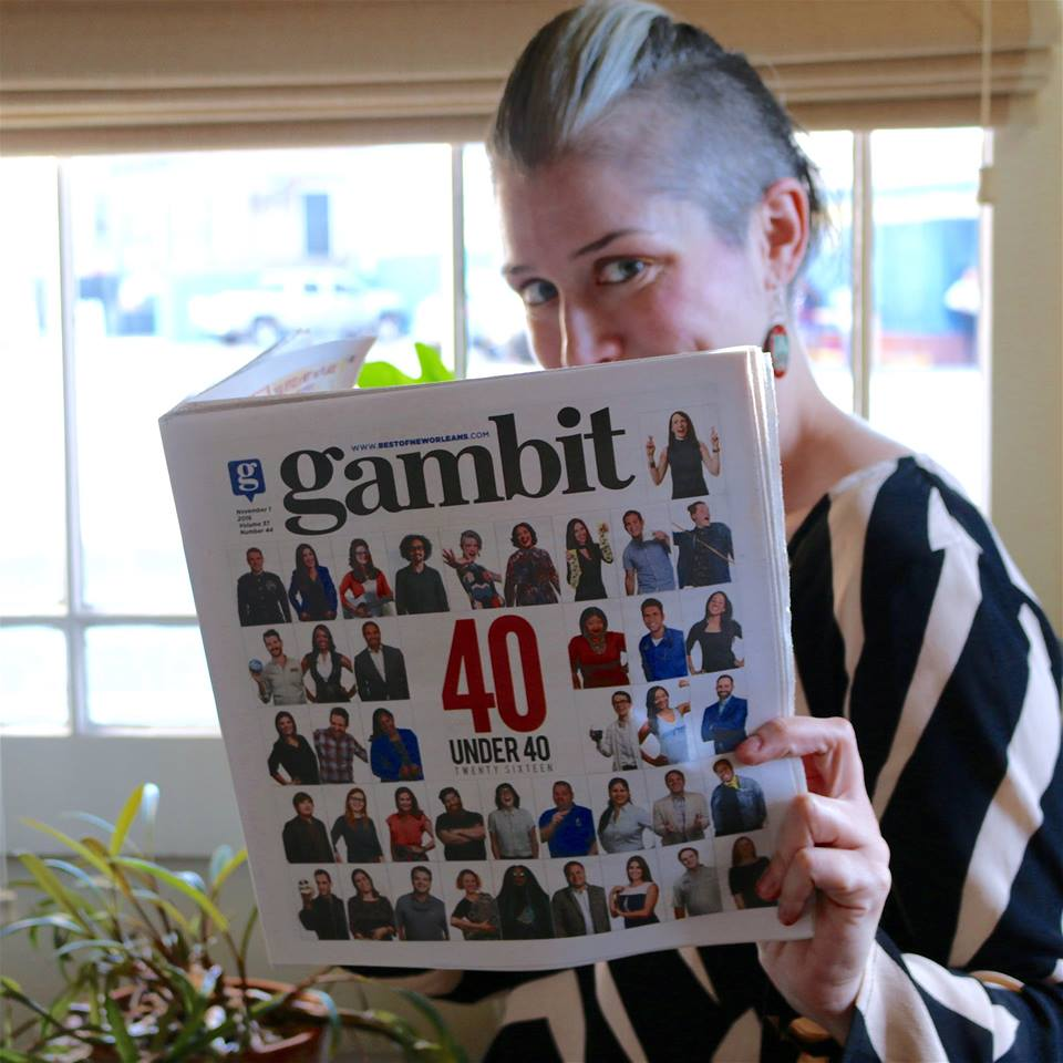 FSC Interactive Content Analyst Mallory Whitfield was named one of Gambit Weekly's 40 Under 40