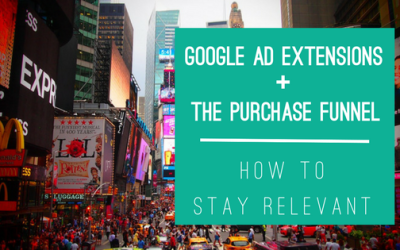 Google Ad Extensions & the Consumer Purchase Funnel: How to Stay Relevant