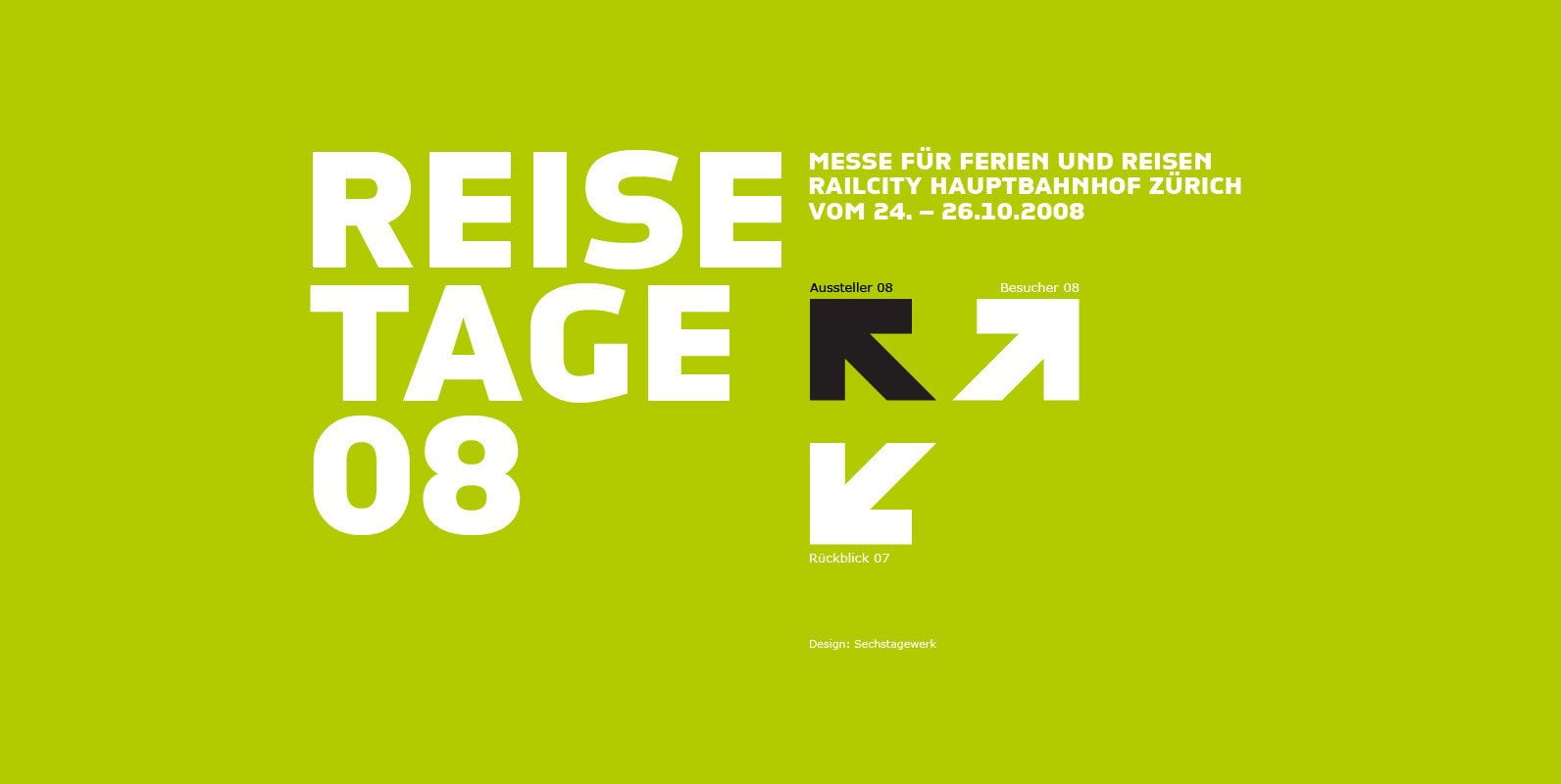 resisetage.ch set in CP Company font