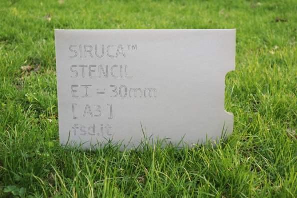 Siruca Stencil plexiglass
