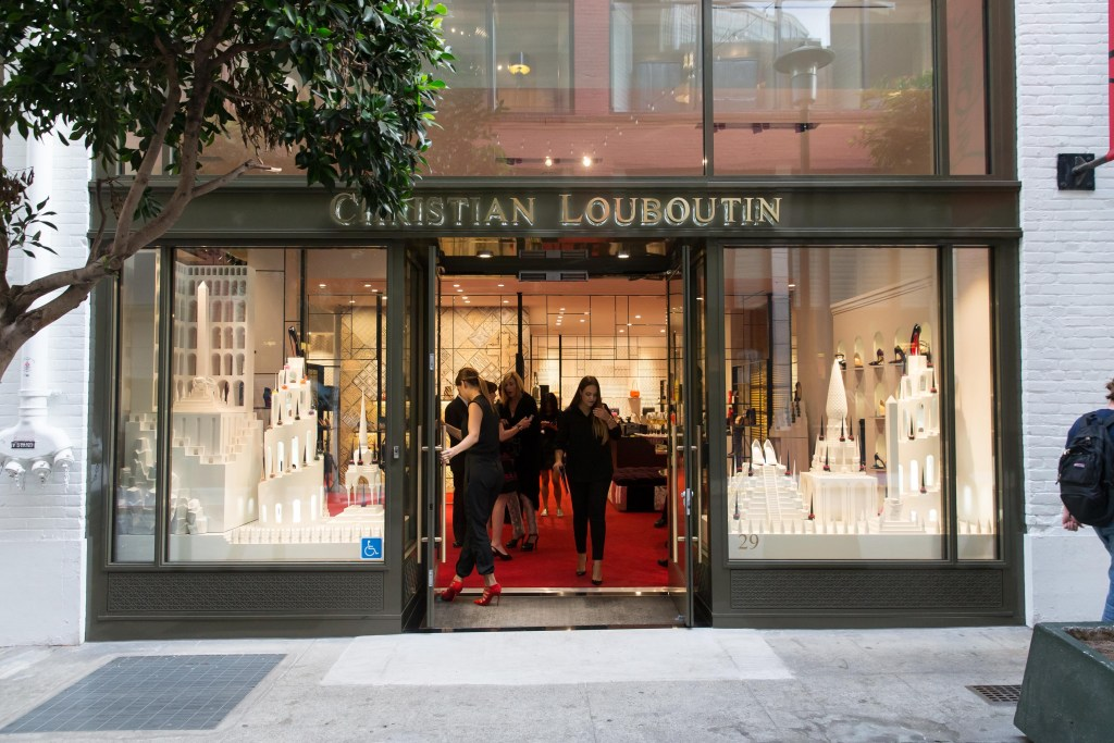 Christian Louboutin Celebrates The Opening of the Brand's First Boutique in San Francisco