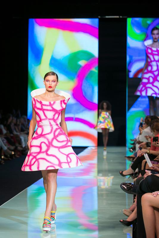 Agatha Ruiz de la Prada Closes Miami Fashion Week 2014 Resort Collections In High Fashion