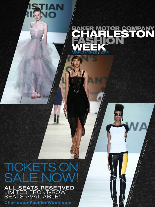 Charleston Fashion Week 2014 Announces Jewelry Television Sponsorship