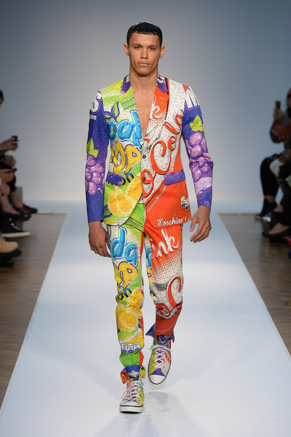 Moschino Joins London Collections: Men SS15 Line-Up