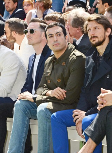 Burberry Prorsum SS15: Front Row & Runway - London Collections: Men
