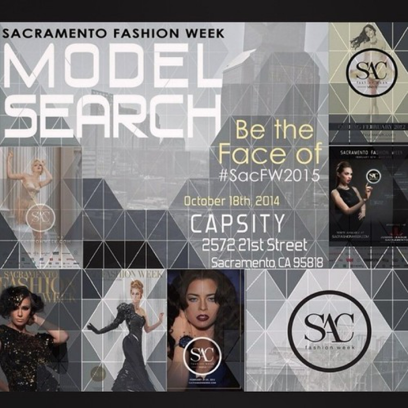 Sacramento Fashion Week 2015 Cover Model Search