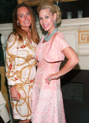 Artist Michelle-Marie Heinemann Hosts Luncheon for Elisabeth Thieriot, Publisher of FSHN Magazine