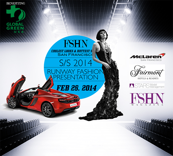 FSHN Announces CLHS 2014 San Francisco – International Runway Fashion Show – Feb 28th 2014