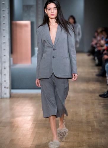 New York woman fashion Week Fall Winter 2015-16TIBI  show