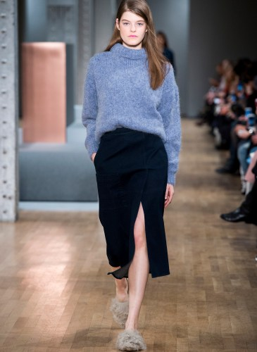 New York woman fashion Week Fall Winter 2015-16