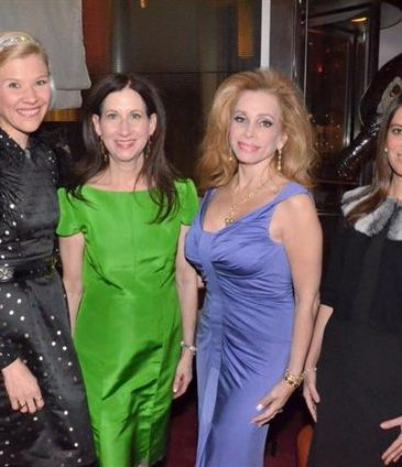 Bettina Bennett, Dr. Penny Grant, Joy Marks  Nicole Dicocco