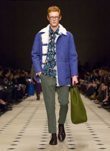 Burberry Prorsum Menswear Autumn_Winter 2015 Collection - Look 12