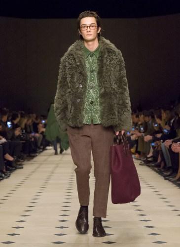 Burberry Prorsum Menswear Autumn_Winter 2015 Collection - Look 2