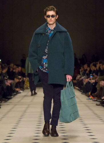 Burberry Prorsum Menswear Autumn_Winter 2015 Collection - Look 27