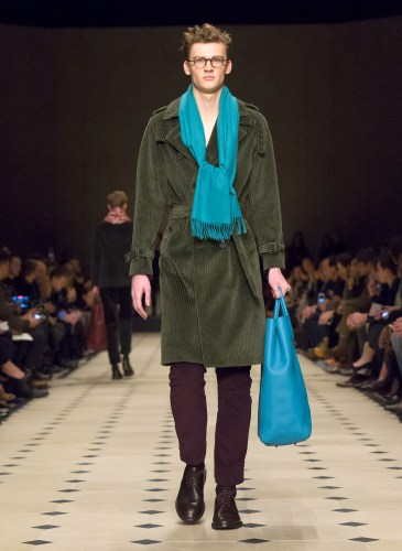 Burberry Prorsum Menswear Autumn_Winter 2015 Collection - Look 35