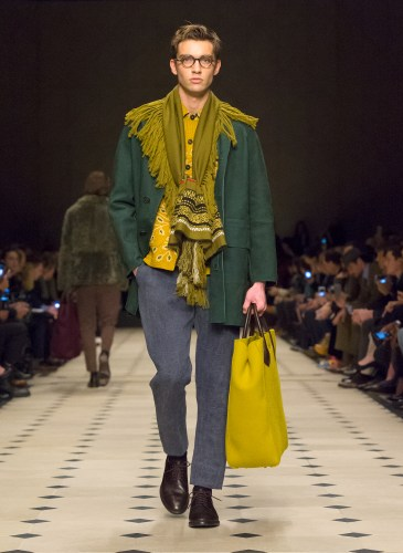 Burberry Prorsum Menswear Autumn_Winter 2015 Collection - Look 3