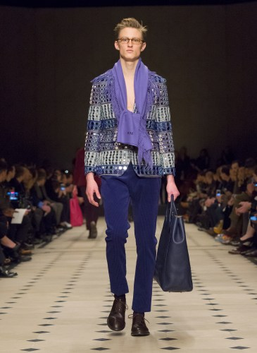 Burberry Prorsum Menswear Autumn_Winter 2015 Collection - Look 45